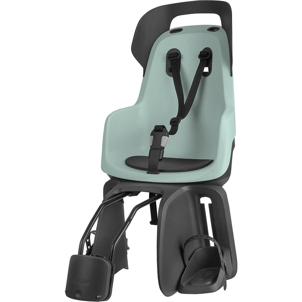 Bobike Fahrrad-Sicherheitssitz Go® Exclusive Inkl. 1P-Bügel Für Gepäckträgerlose Fahrräder Marsmallo