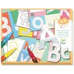 Djeco Mit Formen gestalten- Eine Welt kreieren- Buchstaben