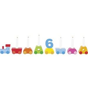 goki Geburtstagszug Regenbogen