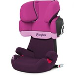Cybex Auto-Kindersitz Solution X2-Fix Silver-Line Purple Rain 2018