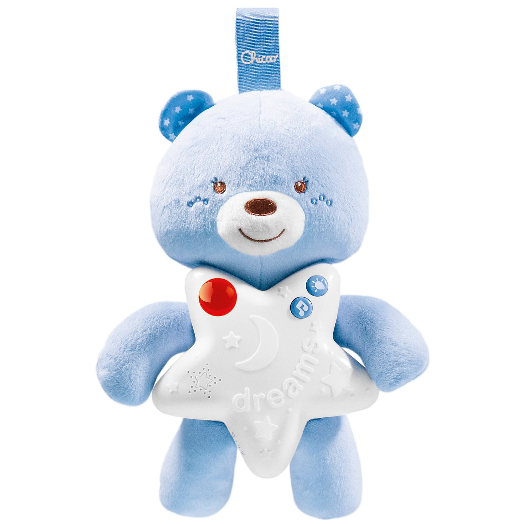 Chicco Babyphone First Dreams Goodnight Friends Boy mit Monitor