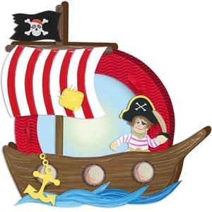 URSUS Laternenbastelset Pirat