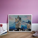 dot on art XL – tower bridge 50 x 70 cm
