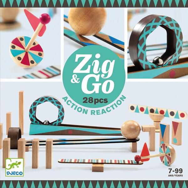 Djeco Zig Go 5640- 28 Teile