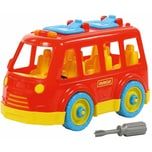 Polesie Konstruktionsfahrzeug Bau dir deinen Van
