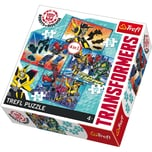 Trefl 4in1 Puzzle 35/48/54/70 Teile Transformers