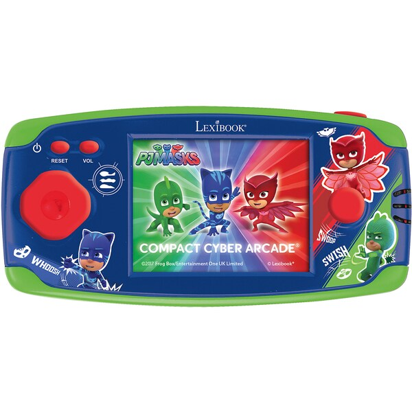 Lexibook PJ Mask Spielekonsole Compact Cyber Arcade