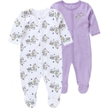 name it Baby Schlafanzug Doppelpack für Mädchen