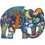 Djeco Kunstpuzzle Elefant 150 Teile