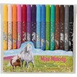 Depesche Fasermaler Miss Melody 15 Farben
