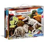 Clementoni Galileo - Ausgrabungs-Set T-Rex Triceratops
