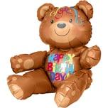 Amscan Folienballon Bär Happy Birthday