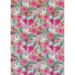 Komar Vlies Fototapete - Disney Ariel Pink Flower 200X280 Cm