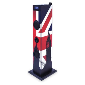 bigben Musikanlage Sound Tower TW5 Union Jack
