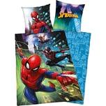 Herding Wende- Kinderbettwäsche Spider-Man Renforcé 135 x 200 cm