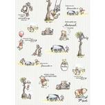 Komar Vlies Fototapete - Disney Winnie Pooh 200X280 Cm