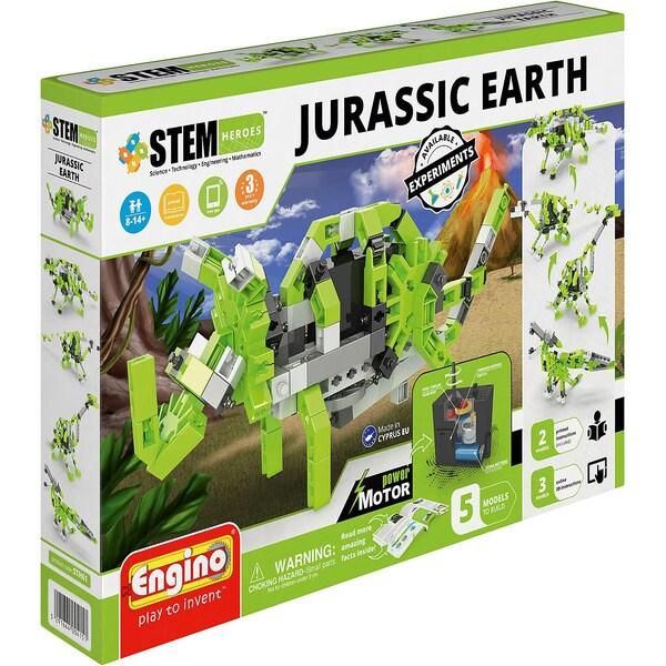 Engino Stem Heroes Jurassic Dinos motorisiert