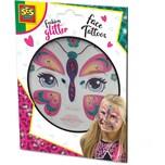 SES Creative Glitter Gesicht Tattoos -Schmetterling