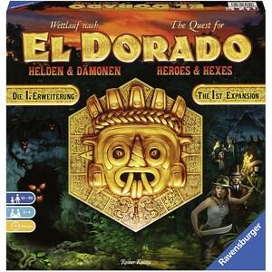 Ravensburger 1. Erweiterung Wettlauf nach El Dorado Helden Dämonen