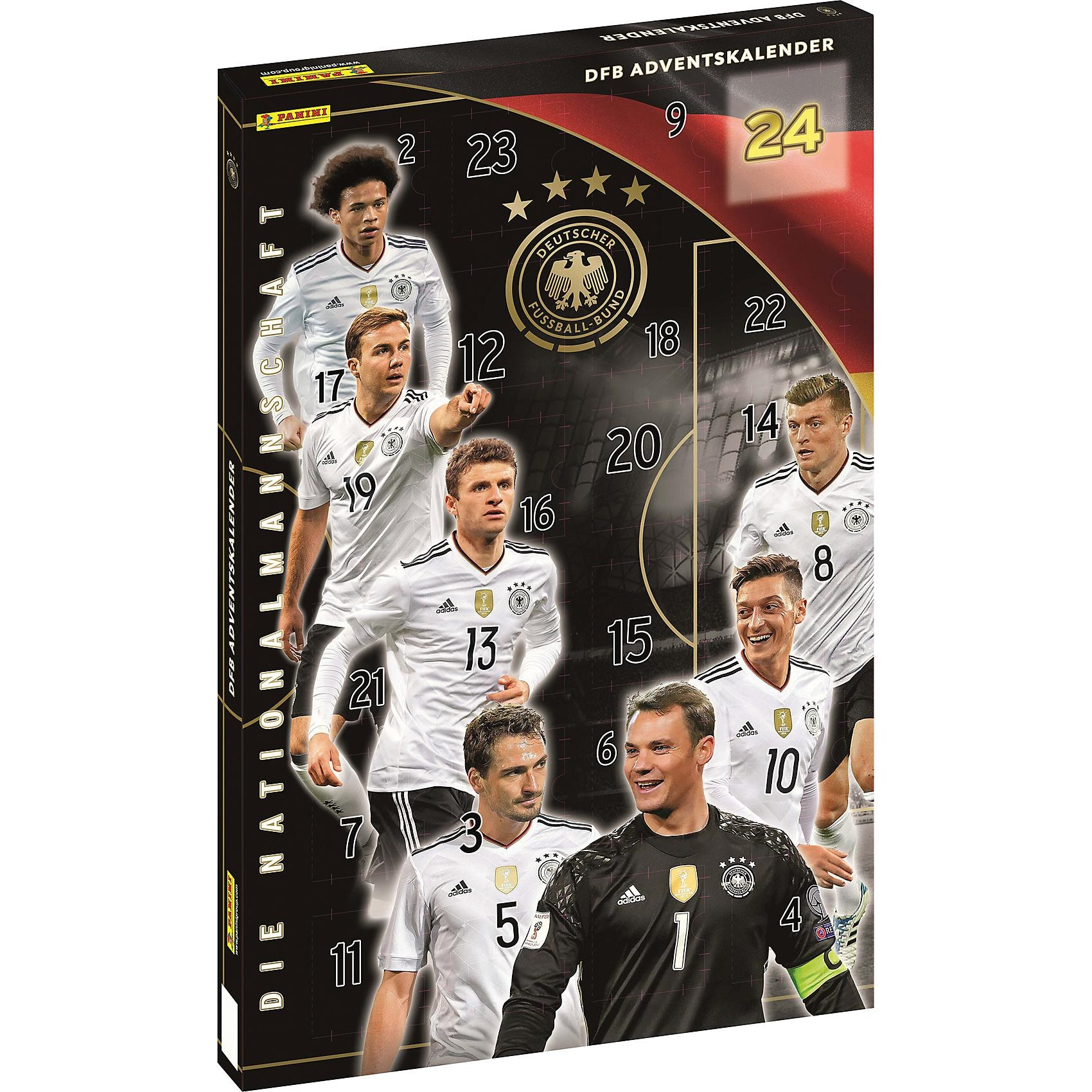 Panini Verlag Adventskalender DFB Nationalmannschaft