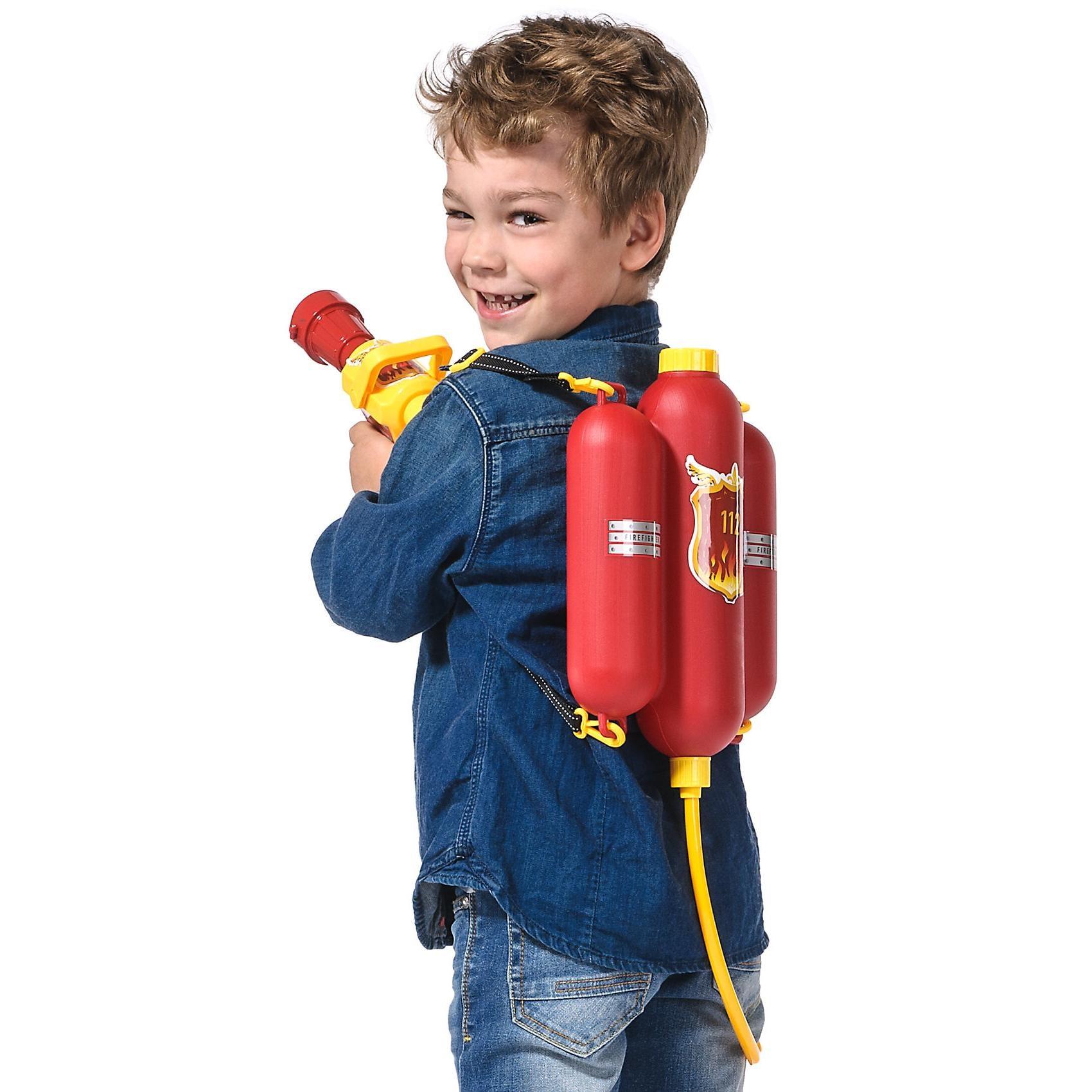 Idena Feuerwehr Wasserspritze