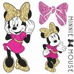 Roommates Wandsticker Disney Minnie Mouse Glitter