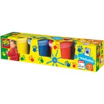 SES Creative Fingerfarben Basic 4 x 150 ml