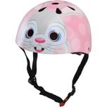 kiddimoto Fahrradhelm Pink Bunny Gr. M