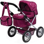 Bayer Puppenwagen Trendy bordeaux