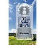 Bresser Solar Fenster Thermometer mit Saugnapf