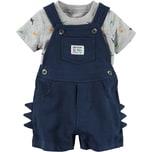 carter`s Baby Set Latzshorts T-Shirt für Jungen