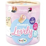 Aladine Stampo Lovely Tropisch Stempel-Set