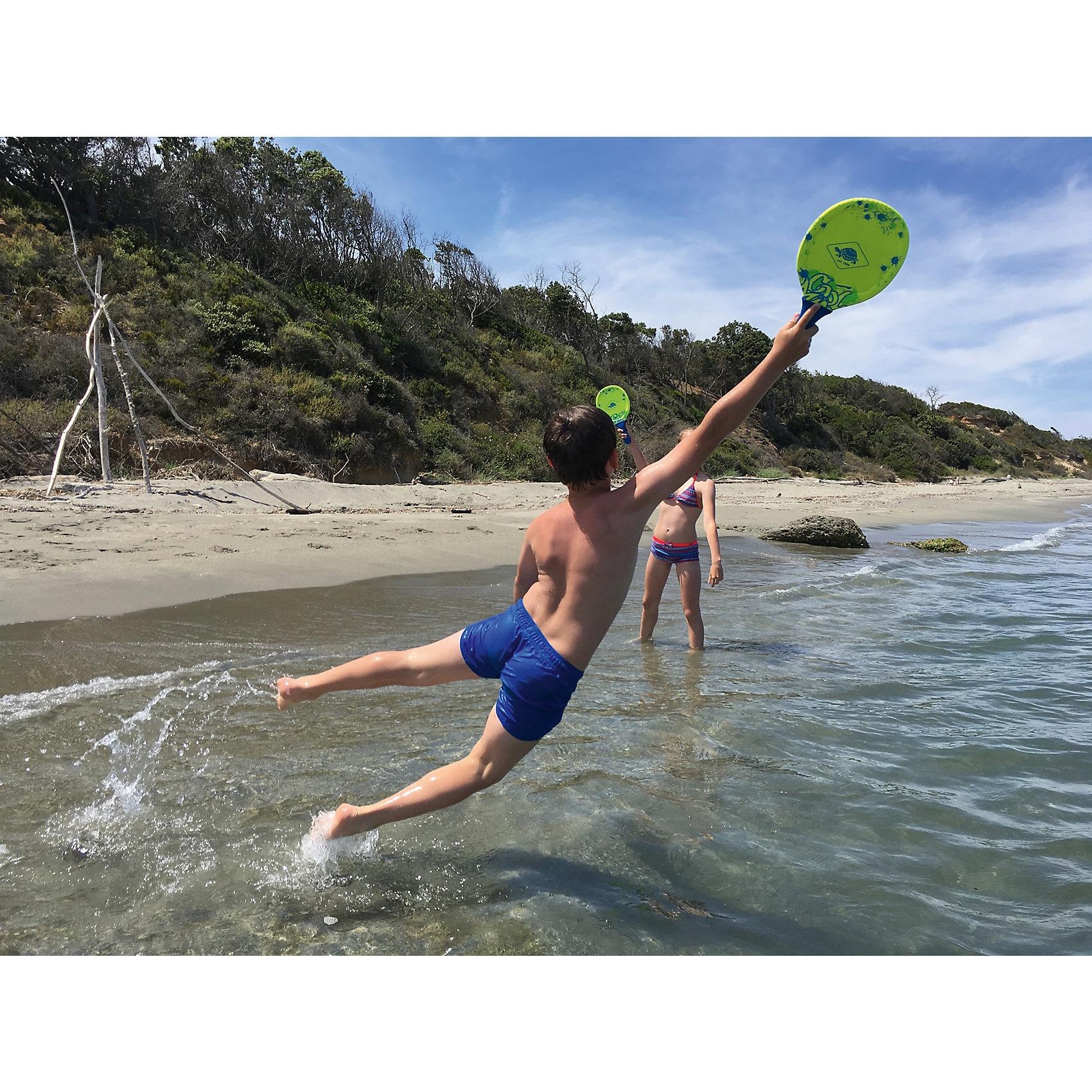 Schildkröt Funsports Neopren Beachball Set gelb