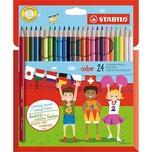 STABILO Buntstifte color 24 Farben