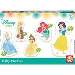 Educa 5er-Set Puzzle 3-5 Teile Disney Baby Princess