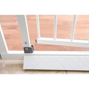 Geuther Bodenplatte für Schutzgitter Easy Lock weiß