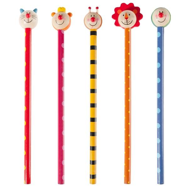 Eduplay Bleistifte mit Tierköpfen 6 Stück