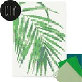 Dot On Art Green Palm 50 X 70 cm