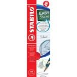 STABILO Bleistifte EASYgraph S Metallic Edition HB Rechtshänder 6 Stück