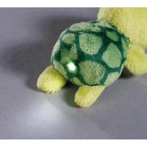 Nici LED-Plüsch-Handtaschenlicht Schildkröte Slippy 9 cm 44787