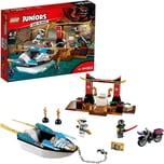 Lego 10755 Juniors Zanes Verfolgungsjagd mit dem Ninjaboot