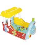 Bestway Fisher-Price® SpielcenterBällebad Dampflok 132 x 94 x 89 cm