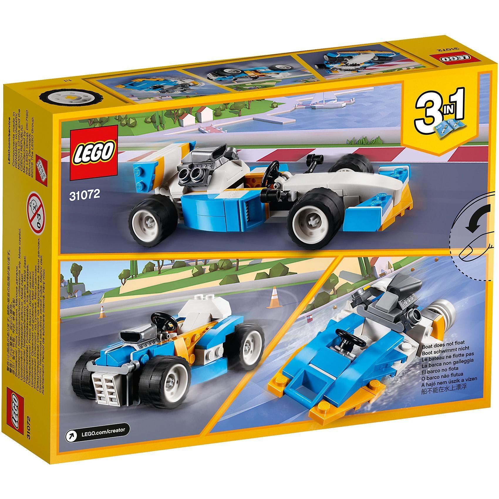 Lego Creator 31072 Ultimative Motor-Power