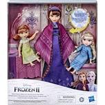 Hasbro Disneys Die Eiskönigin 2 Königin Iduna Schlummertraum mit Elsa und Anna Puppen Singende König