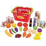 Playgo Einkaufskorb gefüllt