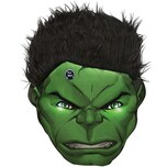 JOY TOY Hulk Kissen mit LED Lichtern