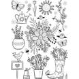 Folia Fensterbilder Maxi-Set Warme Jahreszeit