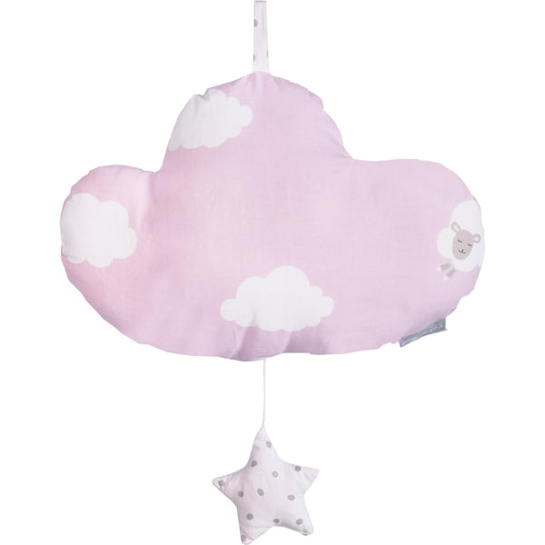 Roba Spieluhr Kleine Wolke mit Stern rosa