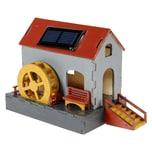 Nemmer Holz-Bausatz Solar-Wassermühle