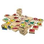 Eichhorn Bilder-Memo-Spiel aus Holz